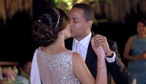 Julio Cesar Valentin boda