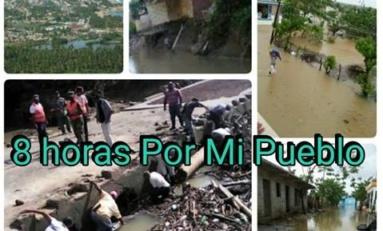 Harán radio telemaratón este domingo 27 pro damnificados por las lluvias en Nagua