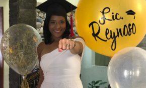 La joven Génesis Reynoso se gradúa de Derecho en grado Cum Laude en la PUCAMAIMA
