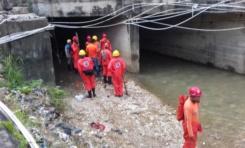 Continúan la búsqueda de dos desaparecidos por las lluvias en Puerto Plata