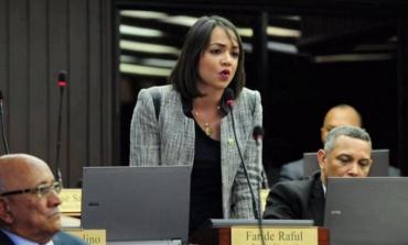 """Faride Raful: """"La Cámara de Diputados es un sello gomígrafo del Gobierno… el Congreso de Danilo"""""""