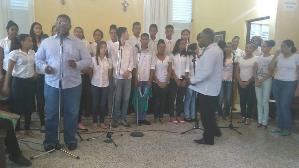 Red Nacional de Coros del Ministerio de Cultura visita comunidad coral de Río San Juan