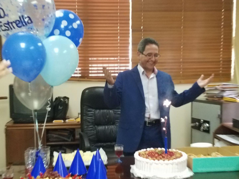 El director de la DGTT, Luis Estrella, está de cumpleaños