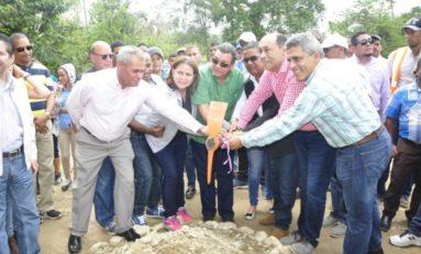 MOPC inicia construcción de puente en cruce de Tenares-Gaspar Hernández