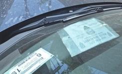 Policía NY multan sus primeros compañeros por estacionar mal sus vehículos