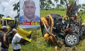 Muere chofer de transporte público tras chocar de frente con una patana en el tramo Gaspar Hernández-Río San Juan