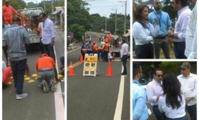 Alcaldía de Cabrera recibe comisión del Ministerio de Obras Públicas