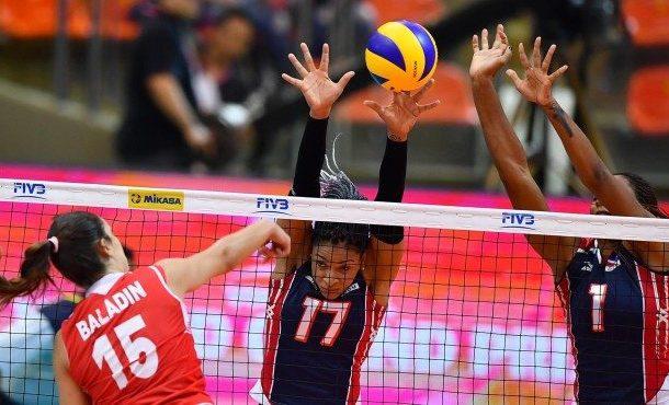 Dominicana perdió de Turquía y finaliza 8vo en el Grand Prix de Voleibol femenino