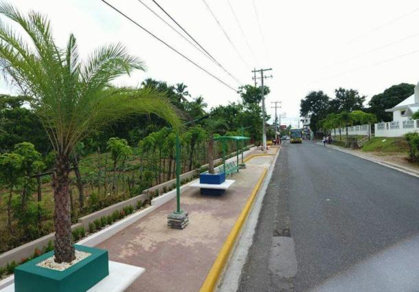 Alcaldía de Payita remoza la entrada al Distrito Municipal