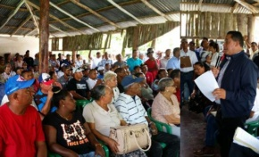 Inician levantamiento de obras a realizar en Río San Juan; Luis Estrella encabeza comisión de Obras Públicas