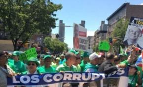 Imagen de Hipólito Mejía en Marcha Verde en NY crea conflicto en el PRM