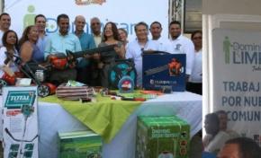 Gobernación provincia María Trinidad Sánchez lanza el programa Dominicana Limpia