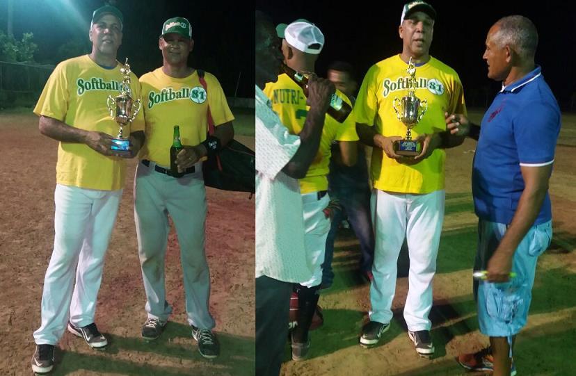 Selección de Río San Juan se corona campeón de torneo provincial de softbol