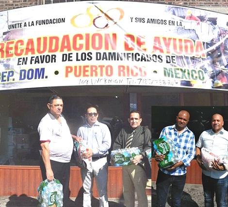 Dominicanos NY demuestran solidaridad con México, Puerto Rico y su país