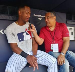 Miguel Andújar contento de poder ser un Yankee