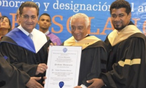 "UASD otorga título de ""Profesor Honorario"" al artista Rafael Solano"