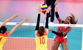 Sexteto de RD apabulla a China 4-0 y suben al 2do lugar en Mundial Sub-23 de voleibol