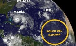 Nube gigante de polvo del Sahara afectará este martes a RD; provocará calor  y alergias