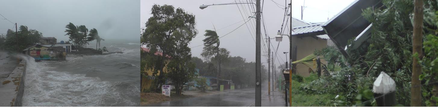 Río San Juan bajo la furia del hucarán Irma: se reportan inundaciones, derrumbe de viviendas y desbordamiento de ríos