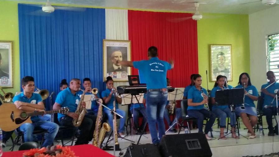 La banda de música de Río San Juan, un relanzamiento de calidad con pedido de apoyo