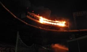 Fuego se expande en oficinas de prensa del Quisqueya; suspenden partido Gigantes-Leones