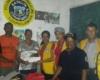 Club de Leones Río San Juan entrega donativo al Batallón Comunitario para construcción de local
