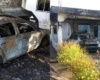 Desconocidos incendian vivienda de los hermanos Baldera en Nagua