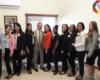 Once rosas para igual número de mujeres integrantes del equipo del Consejo de Desarrollo Fronterizo