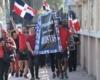 Artistas marchan exigiendo mejores reivindicaciones al Ministerio de Cultura