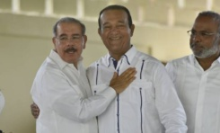 Presidente Medina inaugura complejo turístico propiedad de Antonio Marte en Bonao