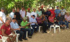 Playa de Los Muertos, escenario de un encuentro entre protagonistas del ayer romántico de Río San Juan