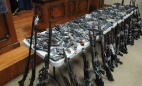 Capturan 11 integrantes de presunta banda traía armas EEUU para venderlas en el país