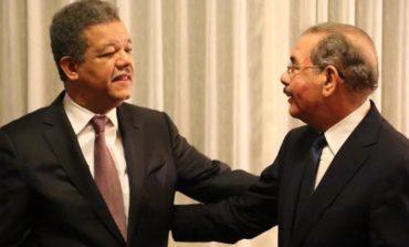 Leonel y Danilo se reunirían la próxima en NY para bajar tensiones en el PLD