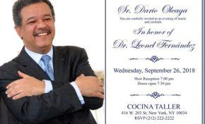 """Leonel asistirá este miércoles """"Cocktals"""" en Alto Manhattan a US$500.00"""