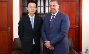 Aviación Civil trata con embajada China sobre líneas aéreas interesadas en volar al país