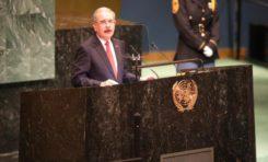 Danilo dice ante la ONU que criminalidad, narcotráfico y cambio climático amenazan la humanidad