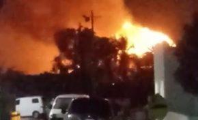 VIDEO: Incendio afecta varios salones de reuniones del Hotel Meliá en Bávaro