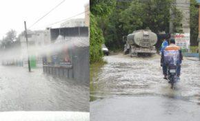 Diez comunidades incomunicadas por lluvias de Isaac; aumentan a 17 las provincias en alerta