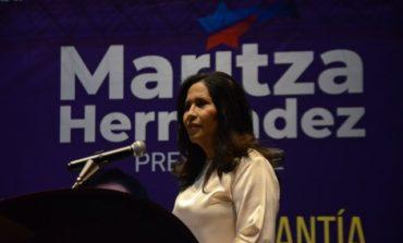 Exministra de Trabajo, Maritza Hernández, lanza precandidatura presidencial por el PLD