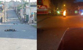 Dos heridos y quema de neumáticos durante protestas este lunes en Nagua; Cabrera y RSJ en calma