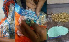 Hallan más de 4 mil pastillas de éxtasis iban a ser enviadas a NY en cascabeles de un traje de carnaval
