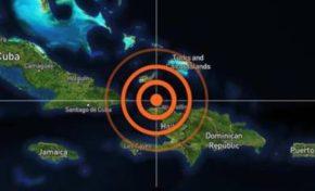 Se registra temblor de tierra de 5.9 grados en el país; epicentro fue al norte de Haití