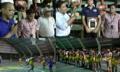 La Gallera Vieja y Buenos Aires ganan en inauguración torneo de baloncesto superior de Río San Juan