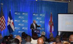 Leonel Fernández afirma en Miami que en el país no existen apátridas