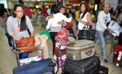 Aeropuertos esperan entre 350 a 400 mil dominicanos lleguen al país por las festividades navideñas