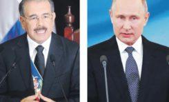 Presidente Medina, el más popular después del ruso Vladimir Putin