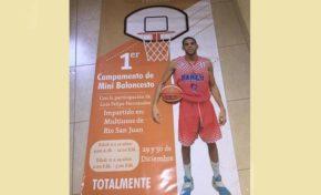Arranca el 29 de diciembre en RSJ campamento de mini basket dirigido por Luis Felipe Hernández