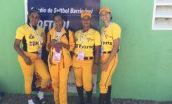 Destacan labor de 4 riosanjuaneras formaron parte equipo femenino softbol molinete Zona Norte ocupó 4to. lugar en Juegos Nacionales