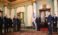 Presidente Medina juramenta nuevos jueces del Tribunal Constitucional